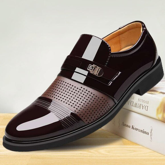 Shawbest-Luxury Fashion Men Business Dress Loafers