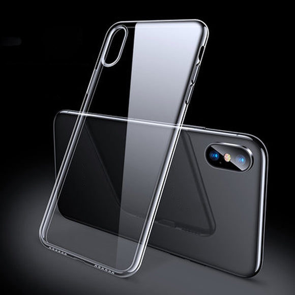 Ultra Slim TPU Silicone Cover Case For iPhone XR 8 11 7