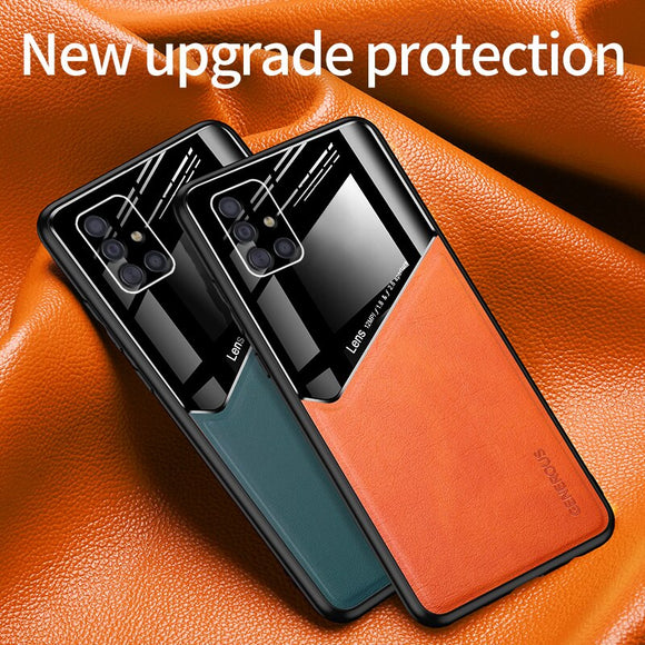 Shawbest - Magnetic Car Phone Case For Samsung Galaxy Note 20 Ultra