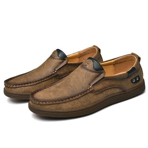 New Breathable Leather Men's Loafers
