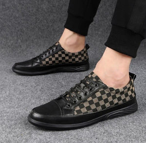 Shawbest - Men Fashion Business Casual Leather Shoes