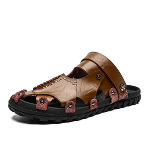 Rubber Outsole Man Leisure Beach Shoes
