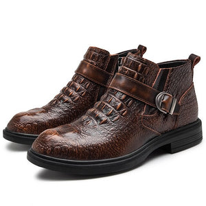 Shawbest - Men's Fashion Genuine Leather Boots