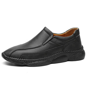 Men's Leather Breathable Non-Slip Loafers