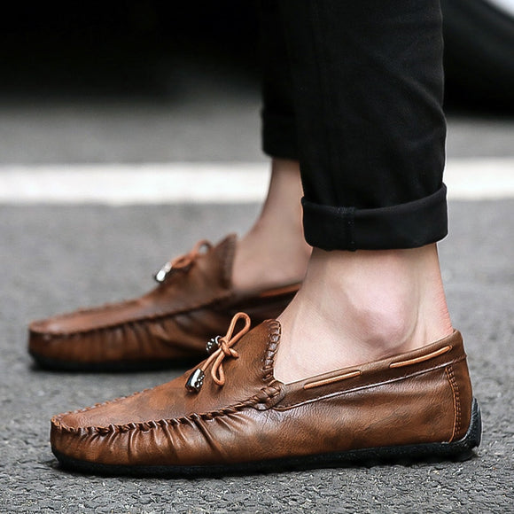 Men's Leather Comfortable Casual Shoes