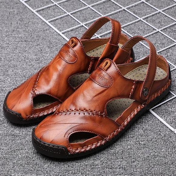 Shawbest-New Casual Men Soft Sandals