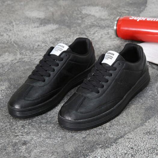 Men's New Popular Style Leather Casual Sneakers