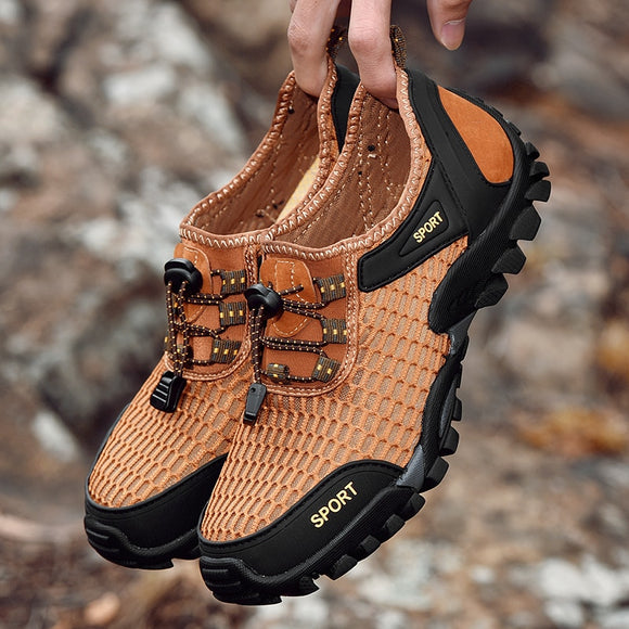 Shawbest-Summer Cool Men Hiking Shoes