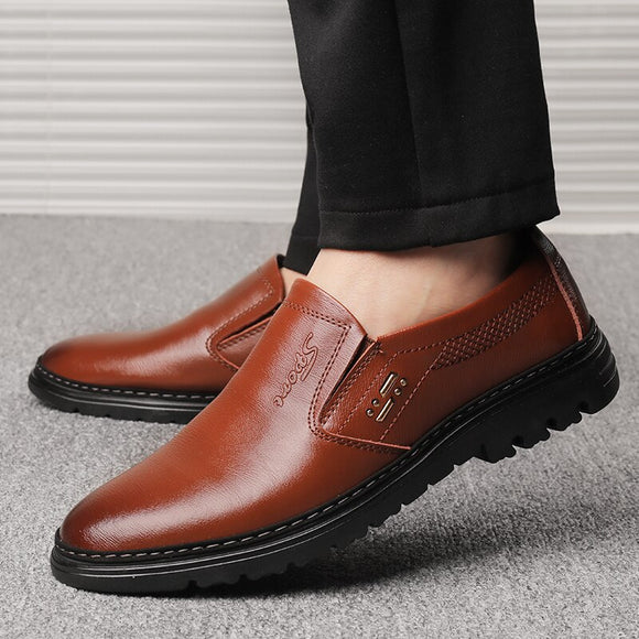 Vintage Men's Casual Leathe Shoes