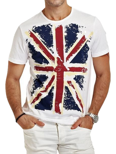 British Flag T-shirt - Hoodlery