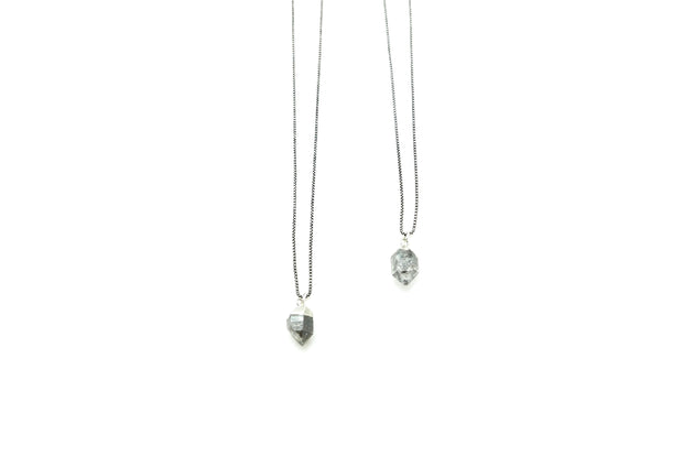 The Herkimer Diamond Necklace