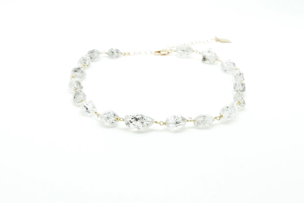 Herkimer Quartz Diamond Choker
