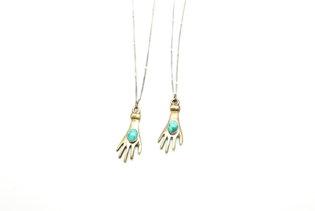 Large Hand of Protection - Turquoise