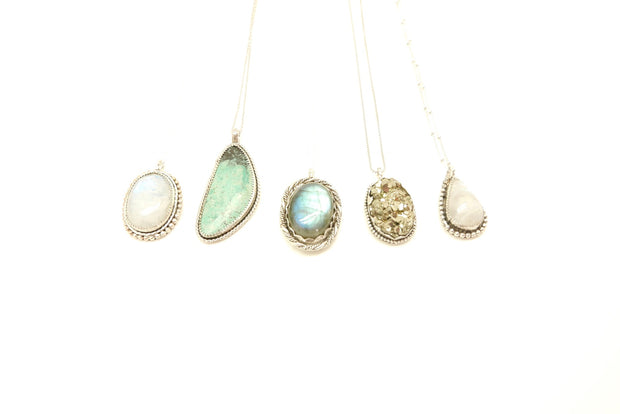 The Labradorite Apex Necklace