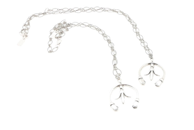 Mini Silver Naja Blossom Necklace