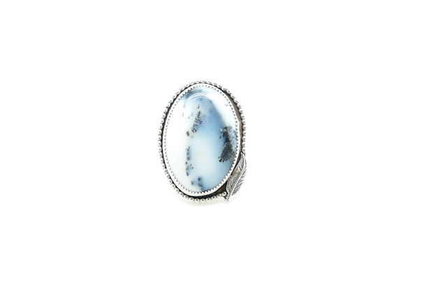 Dendritic Opal Feather Ring (9)