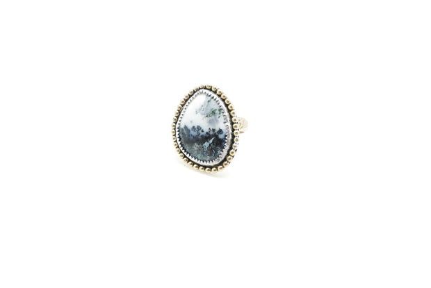 Dendritic Opal Farrah Ring (7.5)