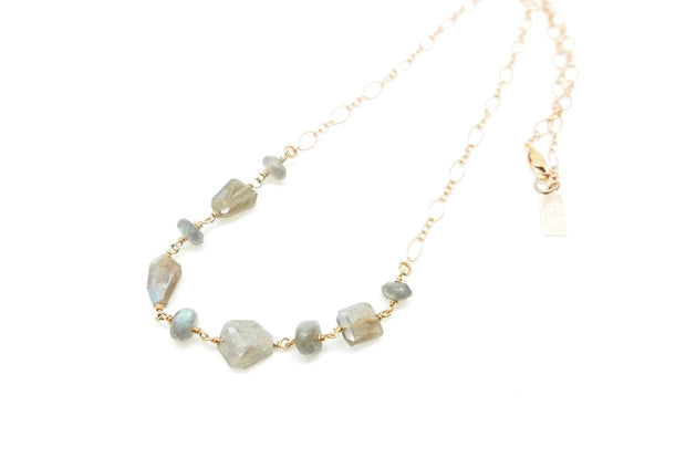 Labradorite April Necklace