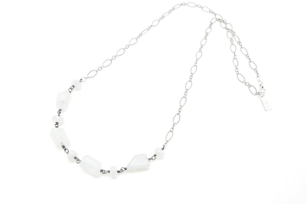 Moonstone April Necklace