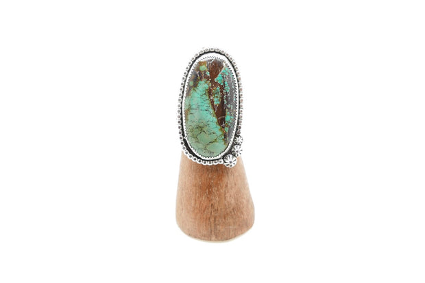Turquoise 3-Point Terrain Ring (7.5)
