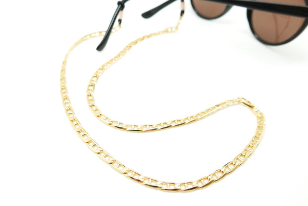 The Lucia: Vintage Gold-plated Eyeglass chain