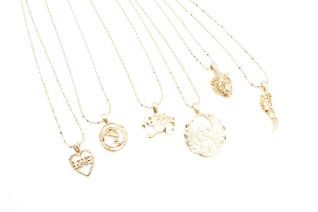 Vintage Goldie Charm Necklace (6 options)