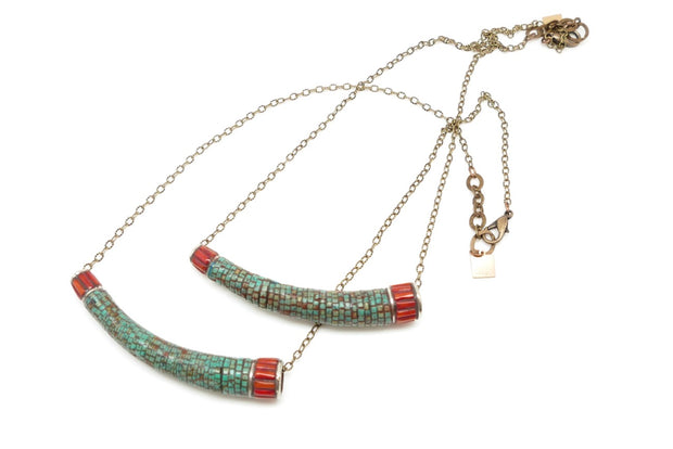 The Lucy Tube Necklace