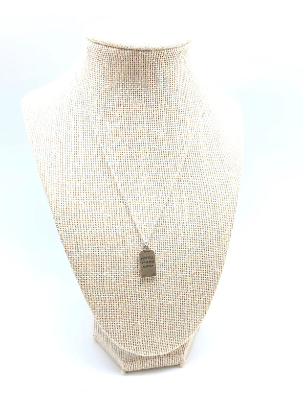 The Boothill Tombstone Necklace