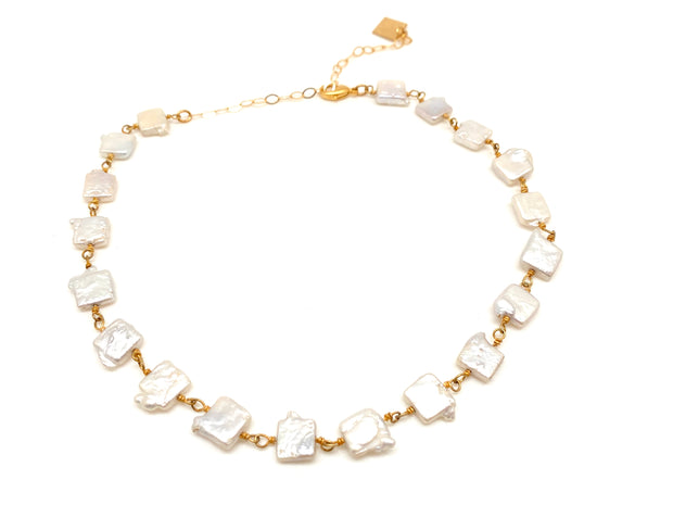The Golden Pearl Choker