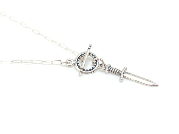 Silver Sword Protection Lariat