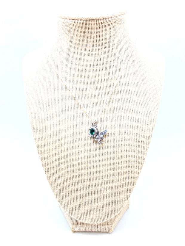 Go Birds! Eagles Charm Necklace