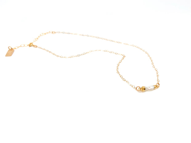 Pearl Sweetheart Necklace