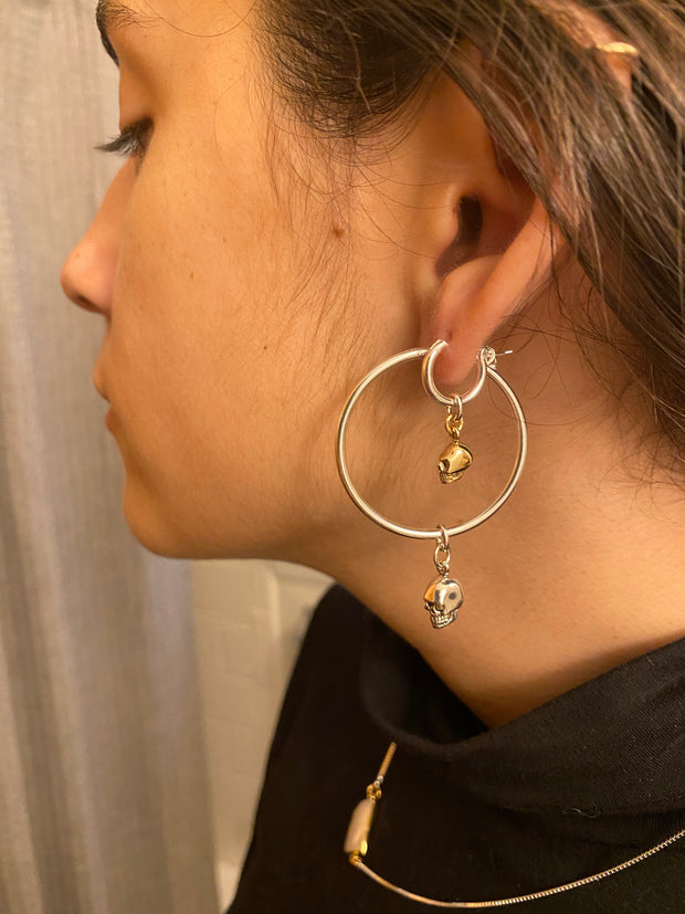 Creep it Real Huggy Hoops (Gold & Silver)