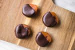 Houston chocolate dipped apricots