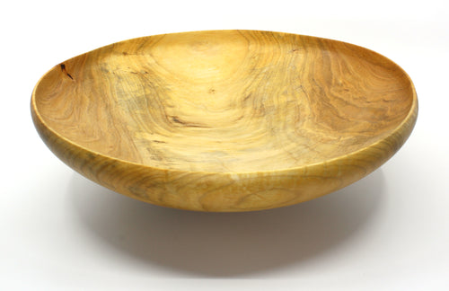 Horizon Salad Style Round Rim Bowl in Maple