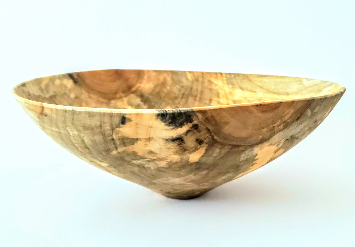 Sky Map Classic Rim Bowl in Ozark Maple