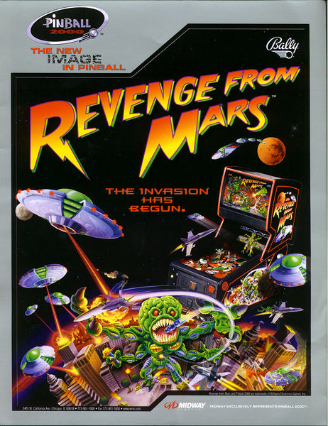Bally's Revenge From Mars Coming Soon!