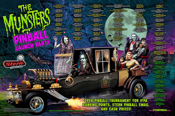 Stern Pinball Munsters Launch Party