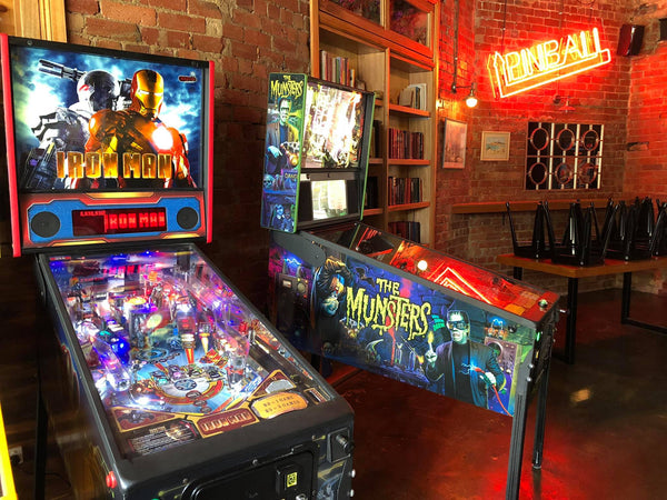 The Munsters Pinball Machine at Pinball Paradise Melbourne