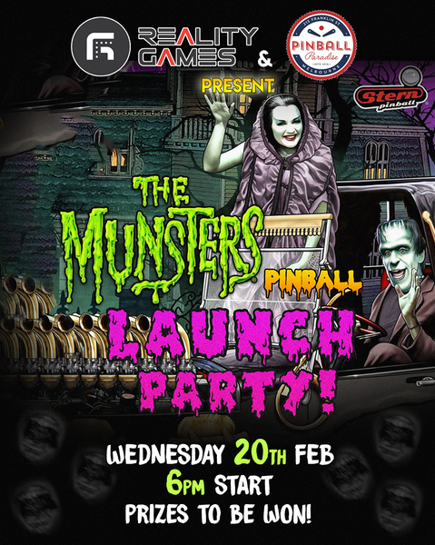 Reality Games Munsters Launch Party