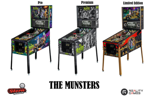 The Munsters Pinball Machine at Reality Games