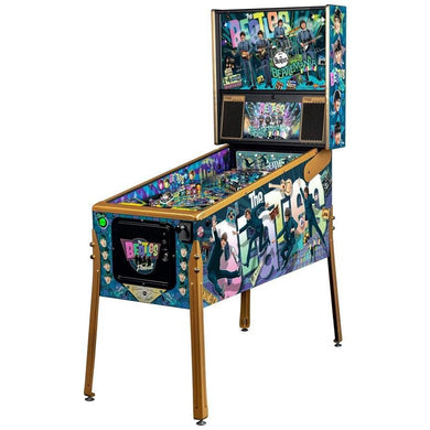The Beatles Beatlemania Pinball Machine - GOLD EDITION - Reality Games Australia