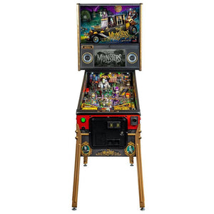The Munsters Limited Edition Pinball Machine - Reality Games Australia