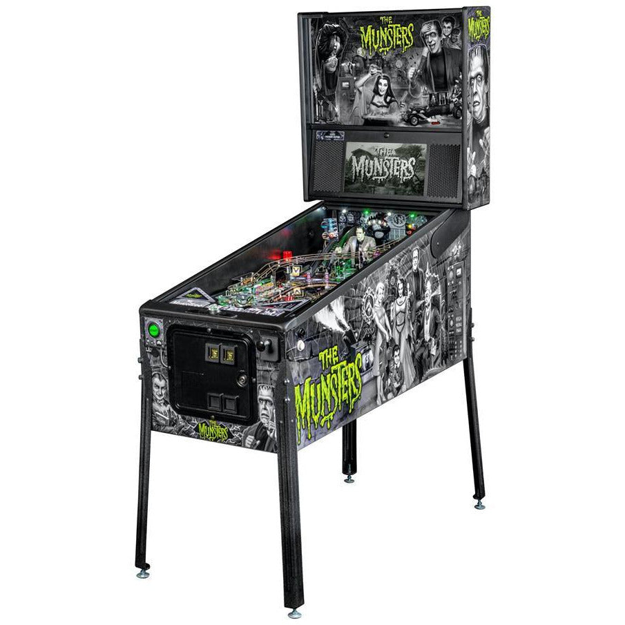 The Munsters Premium Edition Pinball Machine - Reality Games Australia