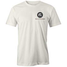 Load image into Gallery viewer, Reality Games AS Colour Organic Tee (Small Logo) - Reality Games Australia