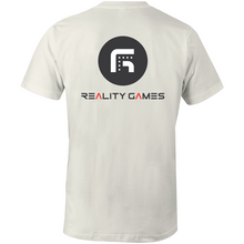 Load image into Gallery viewer, Reality Games AS Colour Organic Tee (Text Logo) - Reality Games Australia