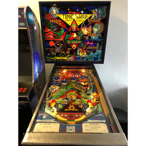 Time Warp Pinball Machine - Reality Games Australia