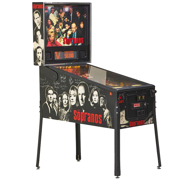 The Sopranos Pinball Machine - Reality Games Australia