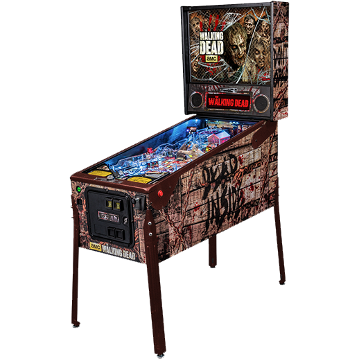 The Walking Dead Limited Edition Pinball Machine - Reality Games Australia