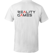 Load image into Gallery viewer, Reality Games AS Colour Organic Tee (Large Logo) - Reality Games Australia